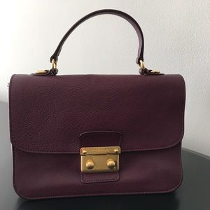 Authentic Pre Owned Miu Miu Madras Top Handle Bag